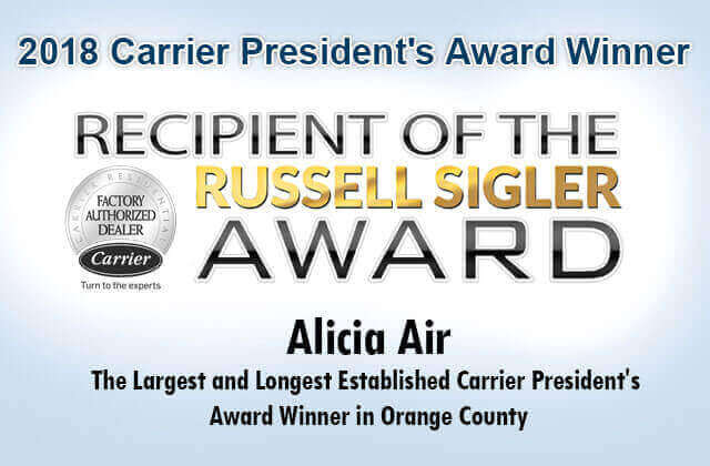 Carrier Dealer Santa Ana CA | AC/Air Conditioner & Furnace